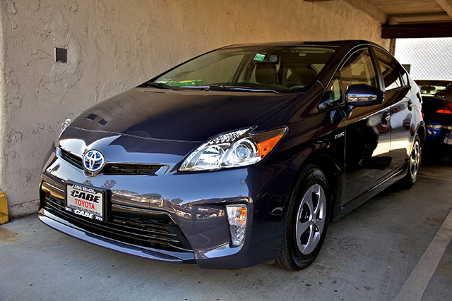 2012 Toyota Prius Four in Winter Gray