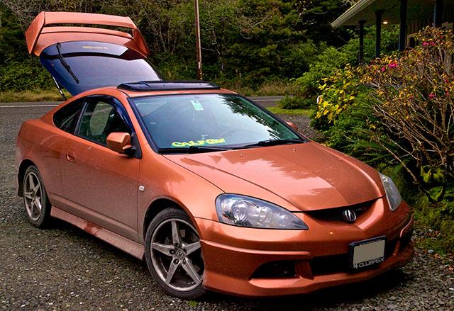 2012 Winter Gray Prius Four 2005 Blaze Orange Metallic (BOM) Acura RSX Type-S – Balancing Act