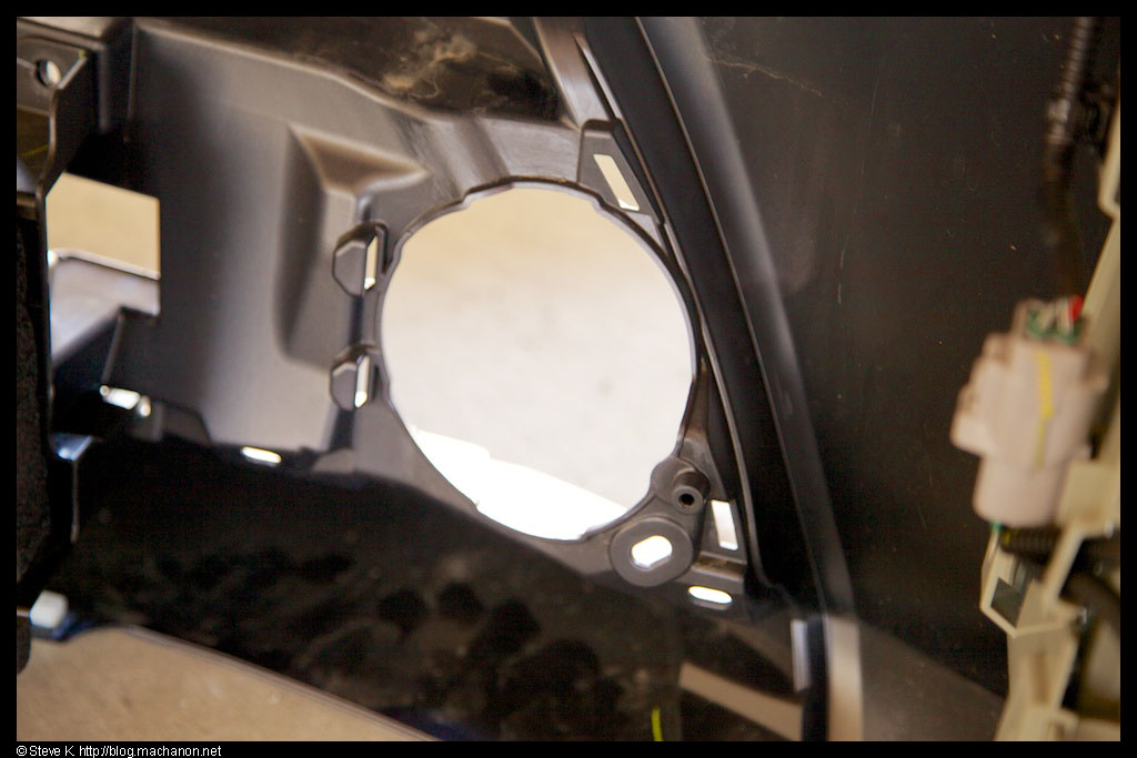 Mount your fog lights and secure them into place by tightening a screw into the lower outer tab