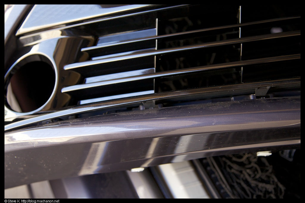 OEM 2012 Toyota Prius Five grille with fog light openings swapped into a 2012 Prius Four