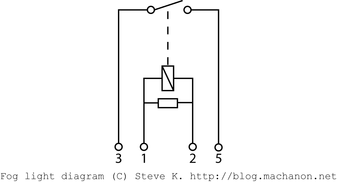 4-point parallel relay internal diagram