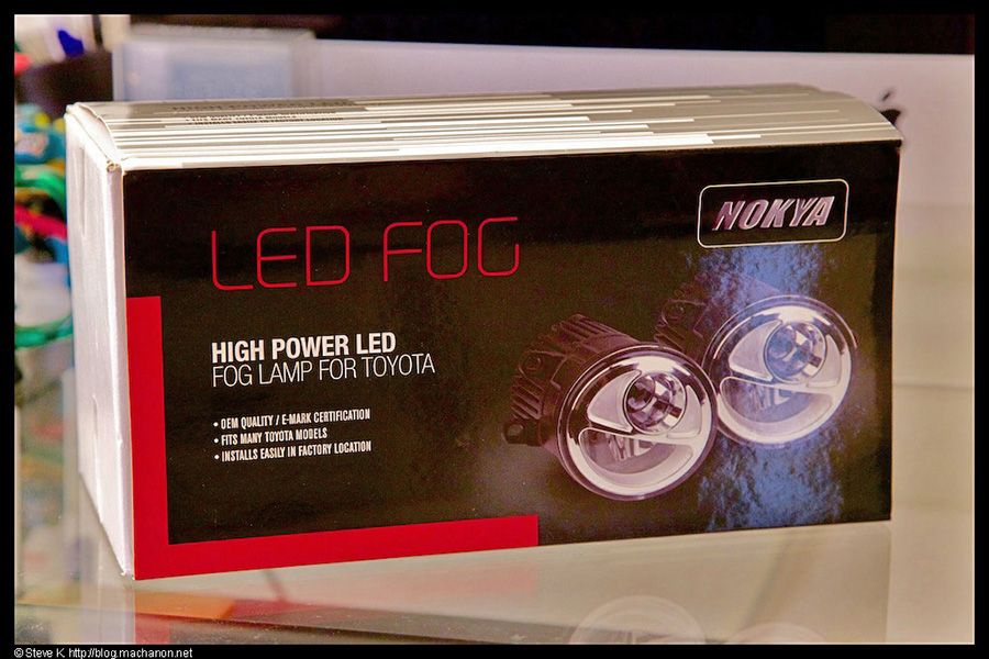 Nokya LED Projector fog lamp replacements for 3rd generation Toyota Prius
