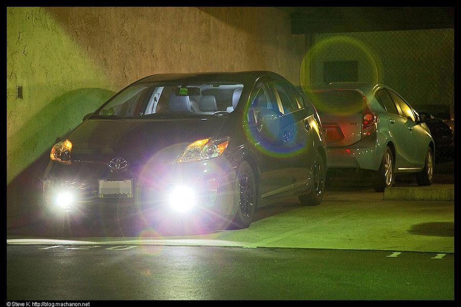 Nokya projector LED fog lights on