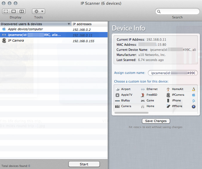 IP Scanner for Mac
