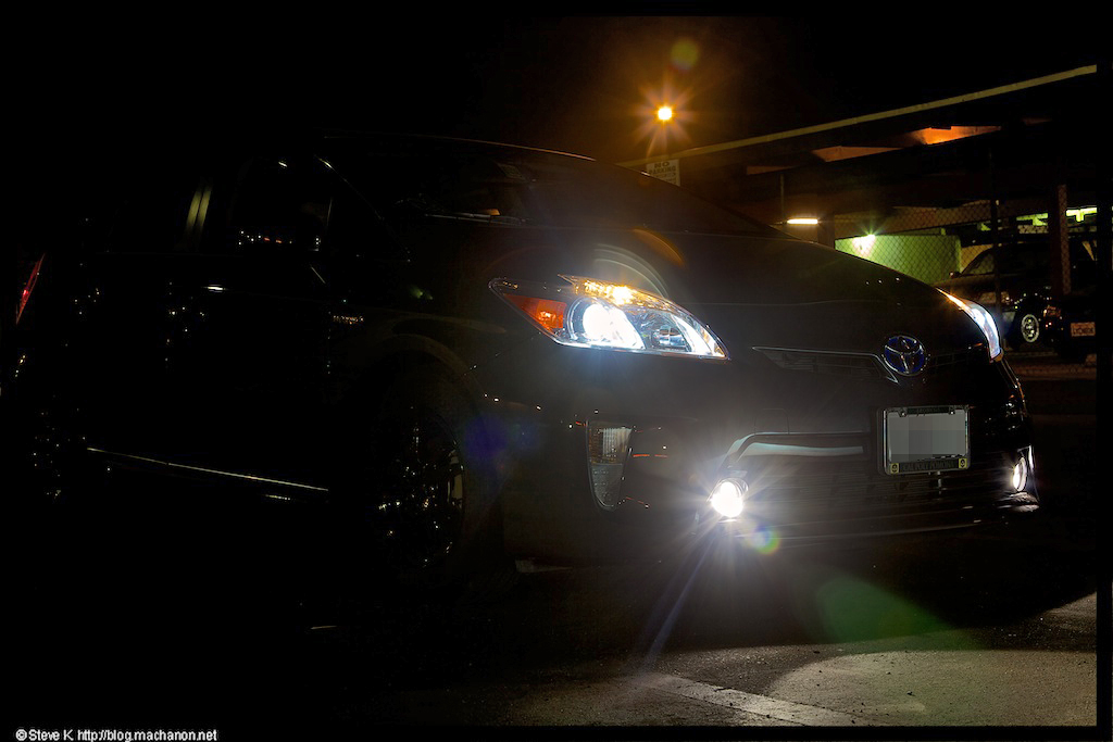 Update: Nokya LED projector fog lights and Xentec 5000k HID cutoffs | Balancing Act