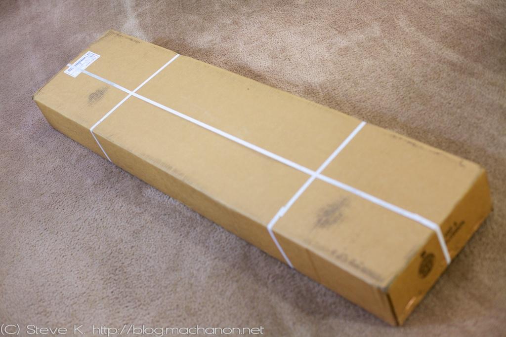 Prius PLUS Performance rear sway bar shipping box