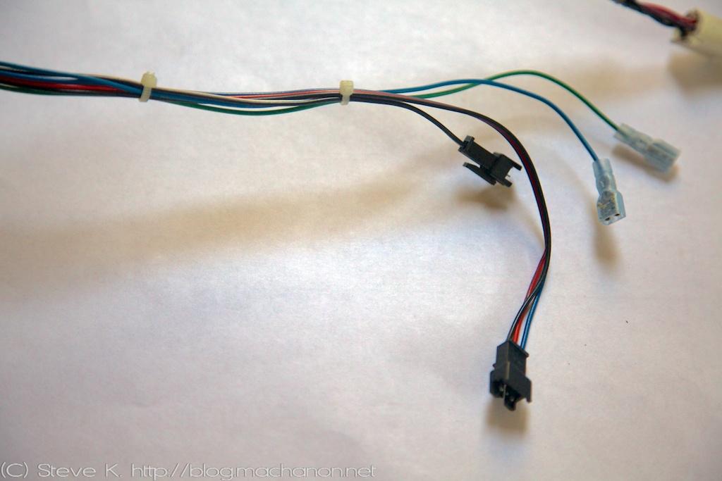 3rd gen Prius JDM power folding side mirrors DIY guide: Wire mod