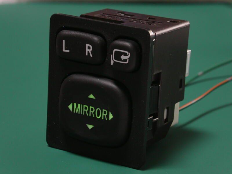 JDM Toyota illuminated power folding mirror switch, p/n 84870-28040