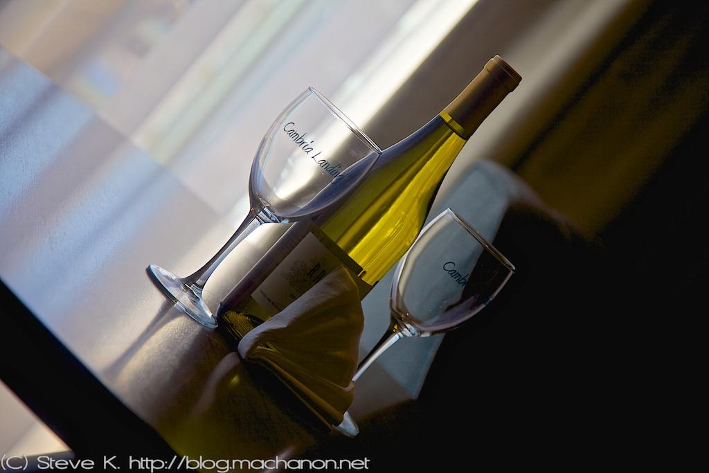 Complimentary chardonnay