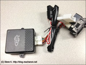 Aftermarket power folding mirror controller module