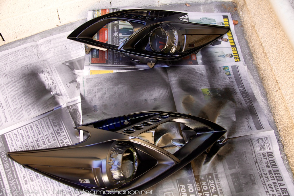 Blacking Out A Pair Of 3rd Gen 2010 2017 Toyota Prius Headlights