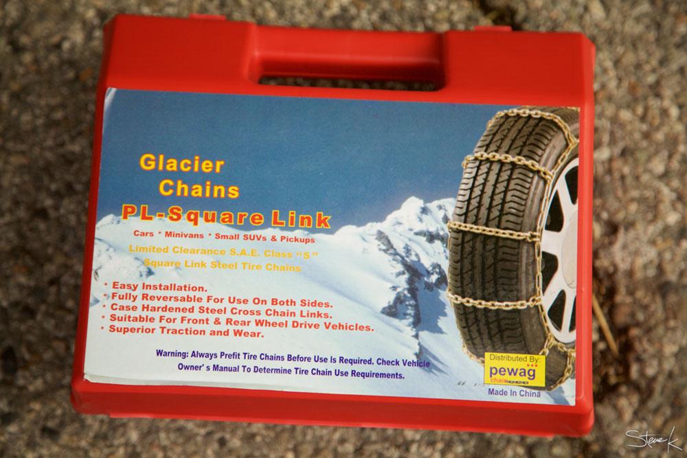 Glacier Chains PL-Square Link snow tire chains