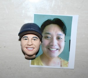 My bobble head, first proof