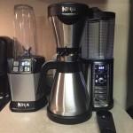 Ninja Coffee Bar and Nutri Ninja with Auto iQ