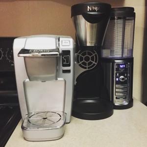 Ninja Coffee Bar vs. 1st Gen single brew Keurig