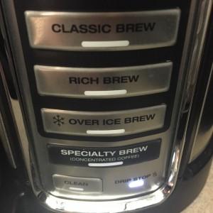 Brew settings