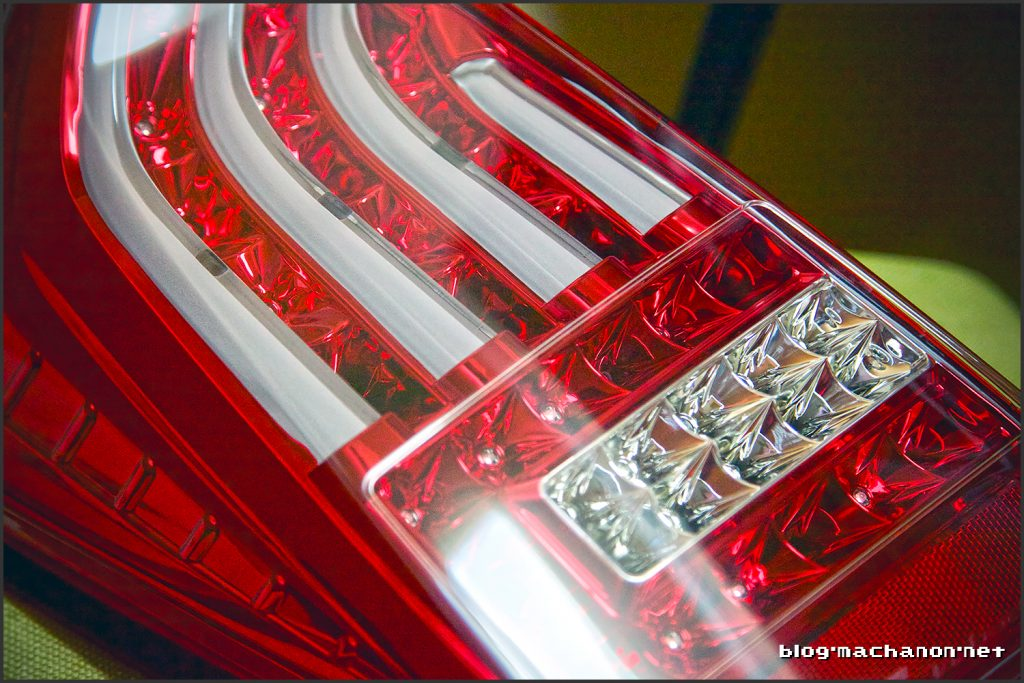 Valenti LED tail lights for 2010-2012 Toyota Prius, red chrome edition