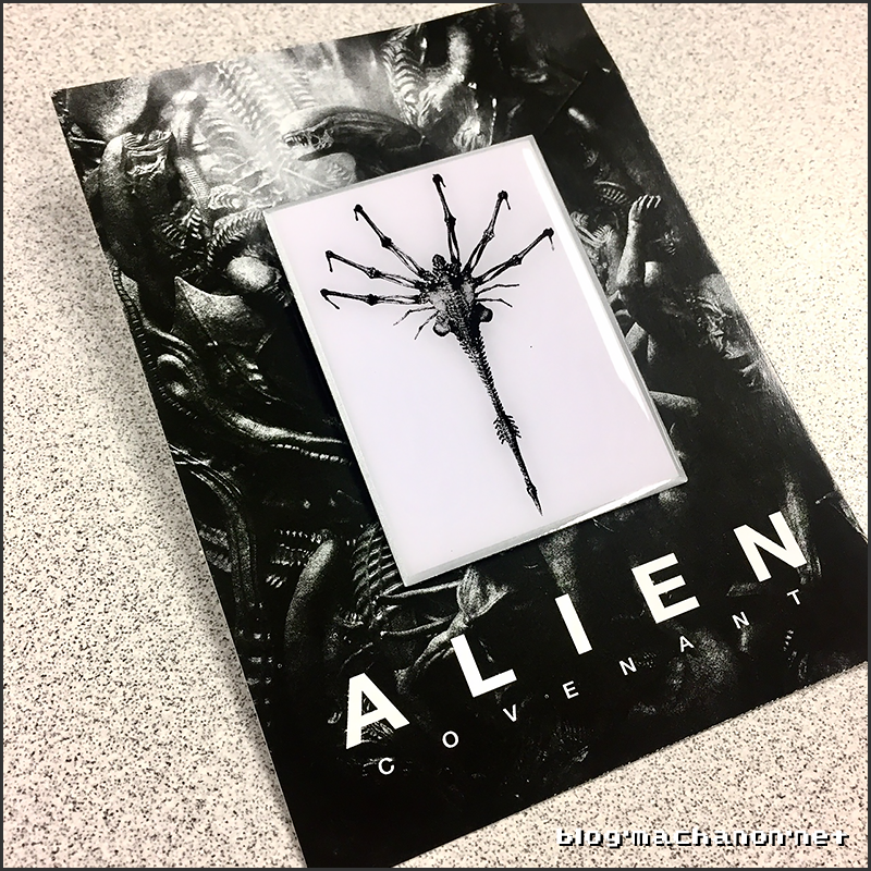 AMC Theaters ALIEN: Covenant promotional Facehugger pin