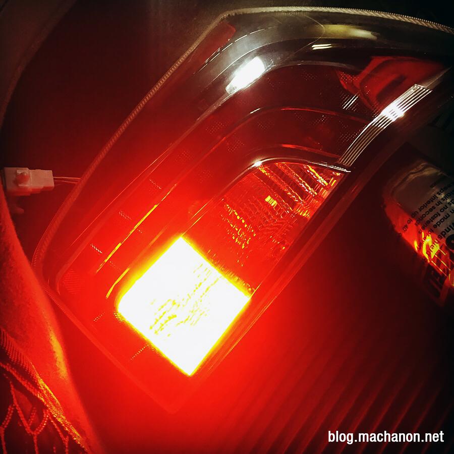 2012 3rd gen Toyota Prius UKDM OEM-style rear fog light