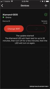 Updating the Kamado Joe iKAMAND firmware