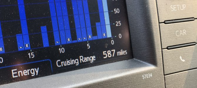 Observed Increase in Fuel Efficiency For the 2012 Prius Follow Up