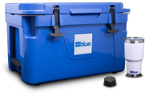 Blue Coolers Ice Vault 50 L Bundle, image © Blue Coolers, www.bluecoolers.com